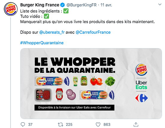 Burger King Communication