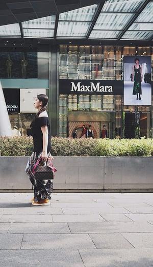 Affichage dynamique MaxMara