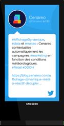 Cenareo-Digital-Signage-Twitter-FR