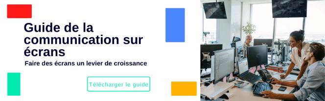 guide ecran communication interne entreprise