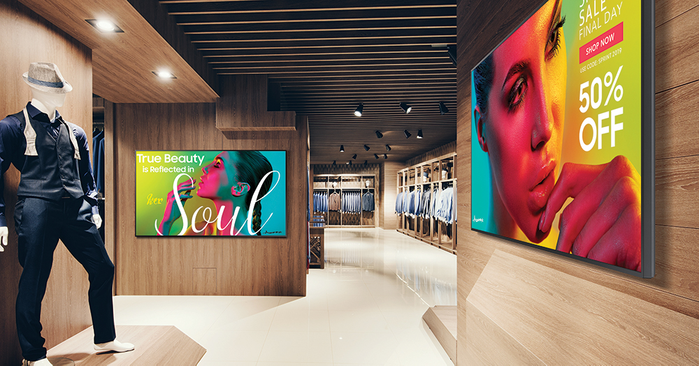 RETAIL-Samsung-Cenareo-digital-signage