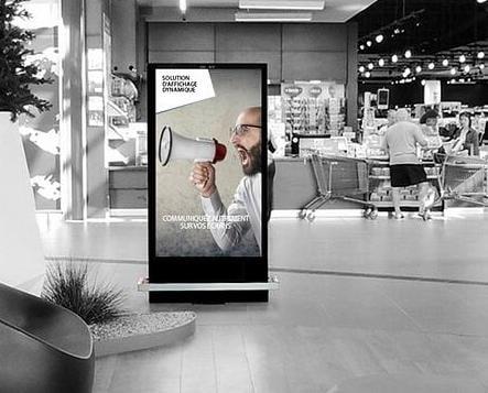 affichage dynamoique mall