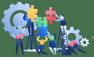 Un projet d'affichage dynamique nécessite plusieurs acteurs: les constructeurs d'écrans, fournisseurs de logiciel, intégrateurs, agences