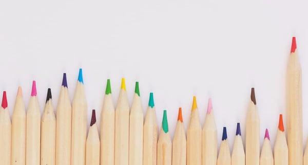 choix des couleurs pour affichage dynamique