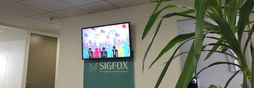 affichage dynamique chez Sigfox