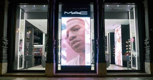 Vitrine dynamique Mac