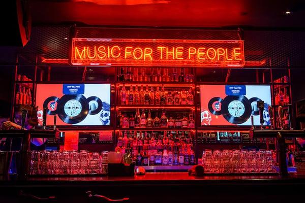 music and digital signage