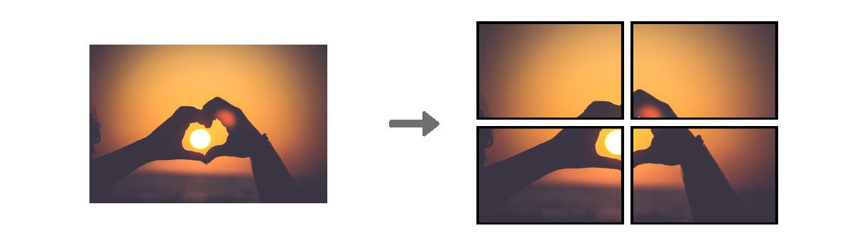 La synchronisation à l'identiques d'écran à affichage dynamique