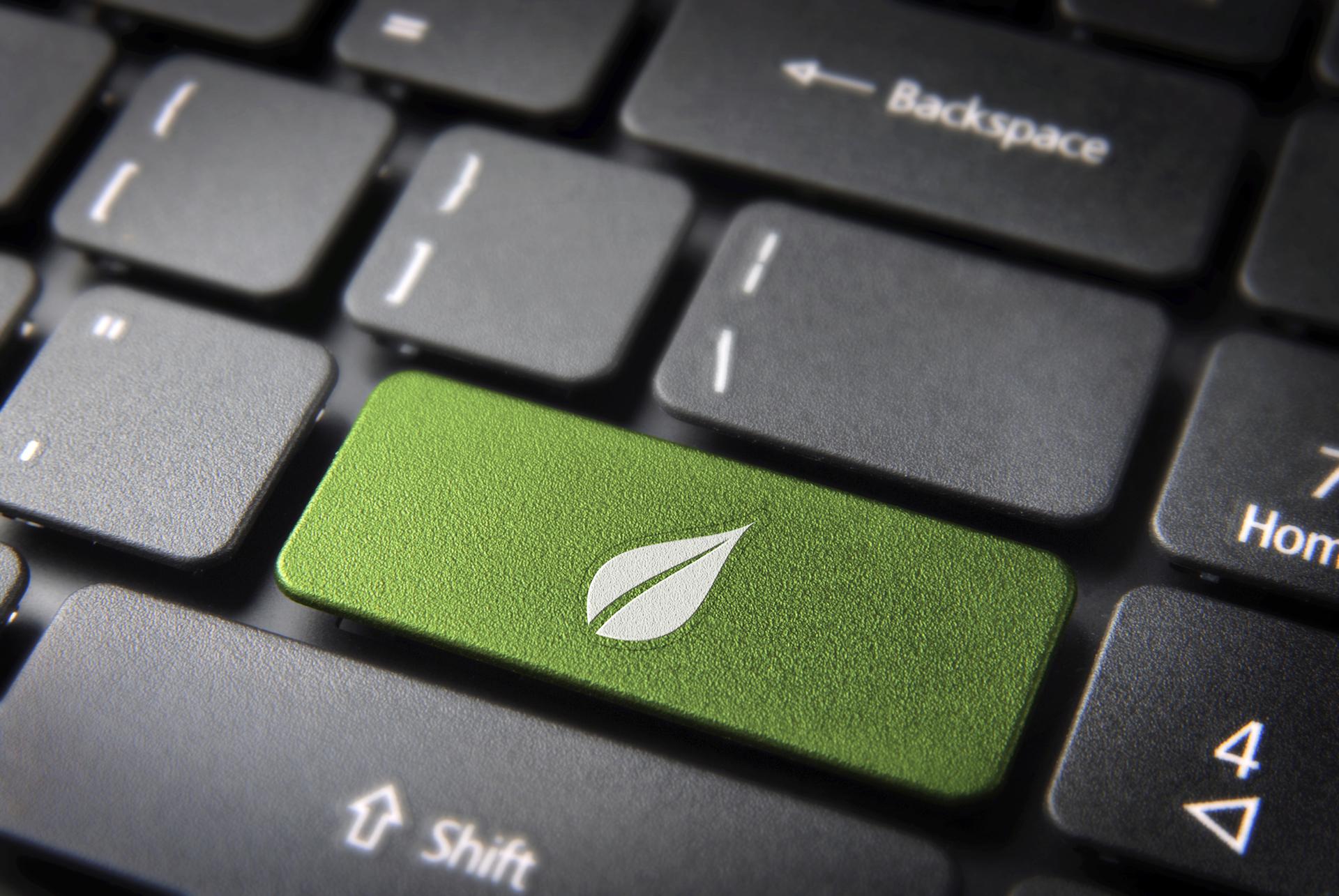 Green digital signage